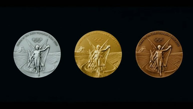 Tokyo Olympics 2020 Medals Made Of Discarded Phones And Other Electronics