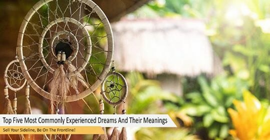 Top Five Most Commonly Experienced Dreams And Their Meanings