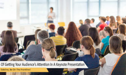 The 4S Of Getting Your Audience's Attention In A Keynote Presentation