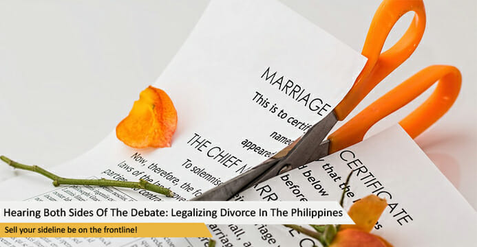 Hearing Both Sides Of The Debate: Legalizing Divorce In The Philippines