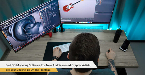 Best 3D Modeling Software For New And Seasoned Filipino Graphic Artists