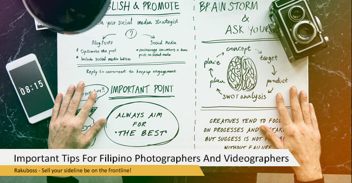 Important Tips For Filipino Photographers And Videographers