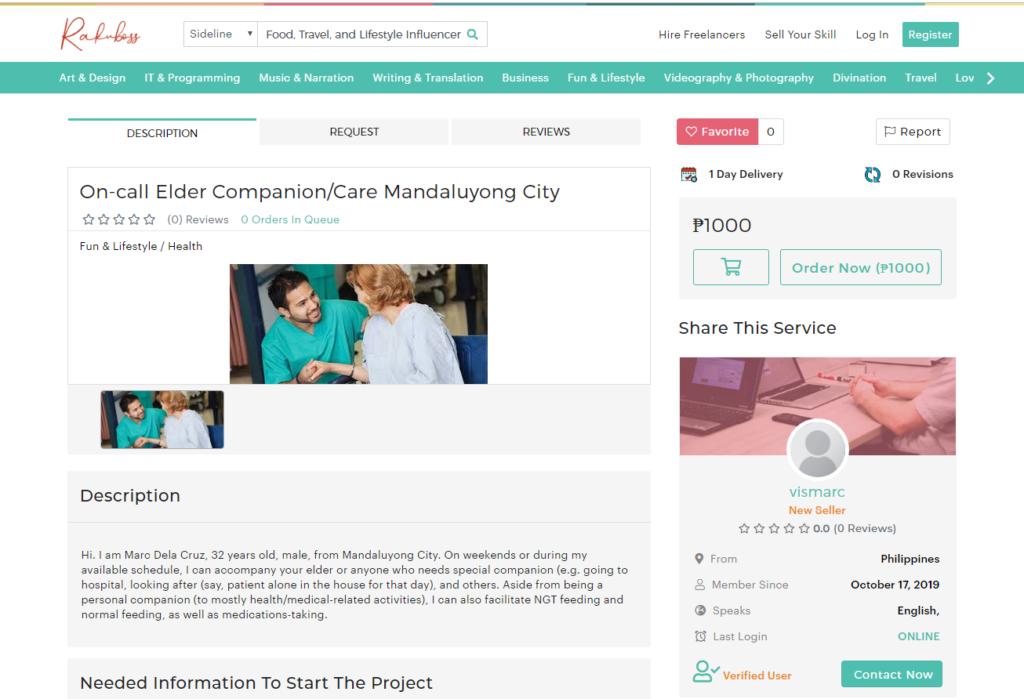 Rakuboss.ph Nursing care companion