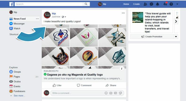 Post Facebook Rakuboss