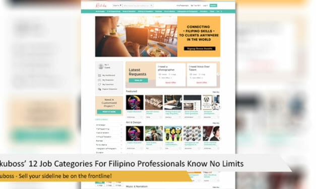Rakuboss' 12 Job Categories For Filipino Professionals Know No Limits