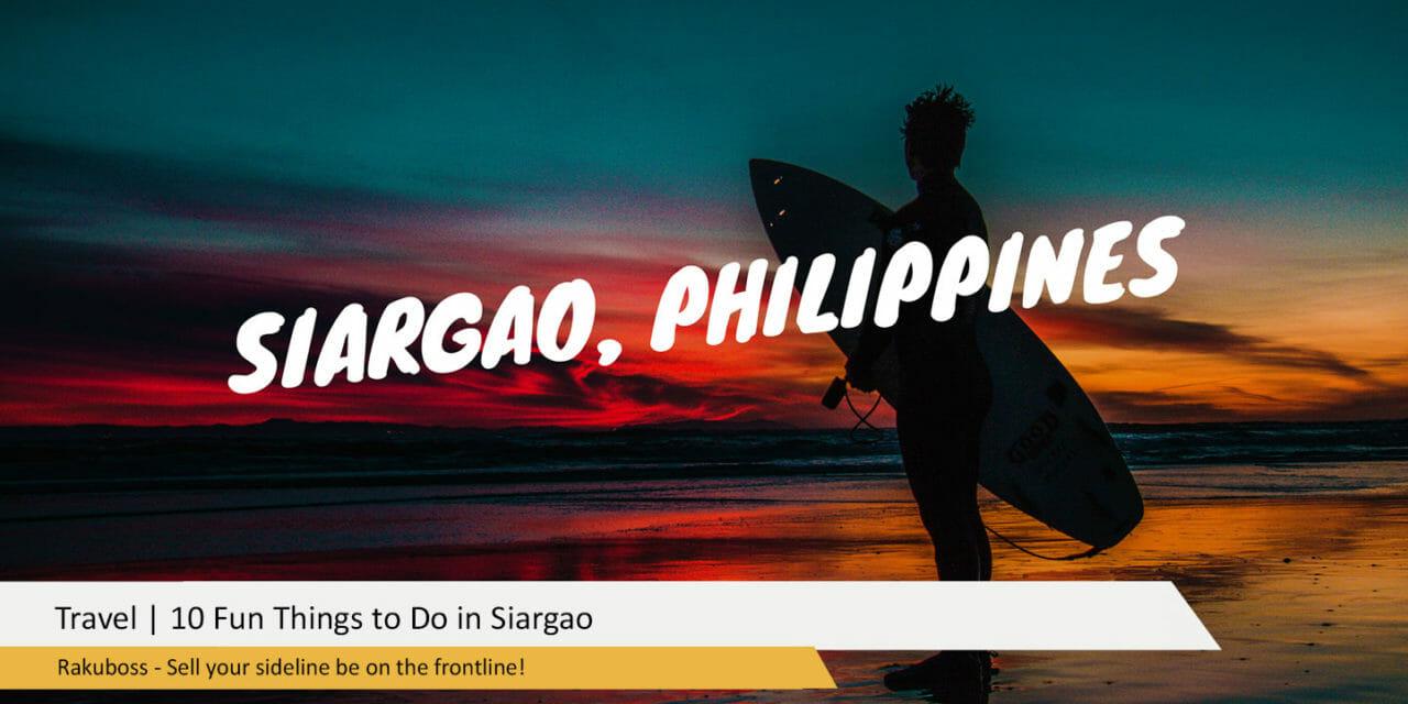 10 Fun Things to Do in Siargao
