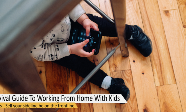 A Survival Guide To Working From Home With Kids